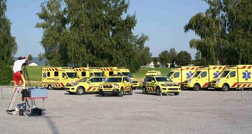 Grosser Rettungsdienst-Einsatz für grosses Bild