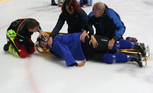 Rescue On Ice: Schulung auf ungewöhnlichem Terrain