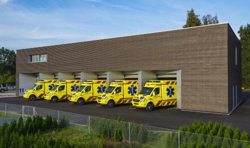 """""""Regio""""-Fahrzeuge nun in modernen Garagen untergebracht"""