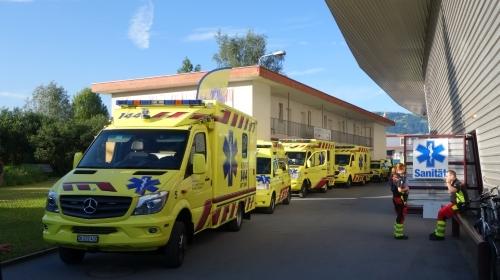 """Hitze sorgte für viele Patienten am """"Ironman"""""""