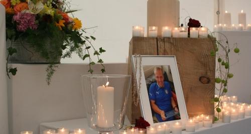 Über 500 Menschen verabschiedeten sich von Heinz Wagner
