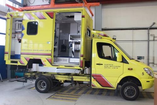 Halbe Rettungswagen-Flotte halb erneuert