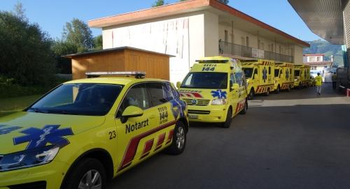"""Am """"Ironman"""" Rapperswil-Jona viele Patienten betreut"""