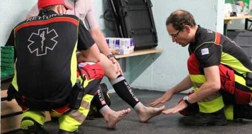 Für einmal ein Triathlon ohne grosse Verletzungen