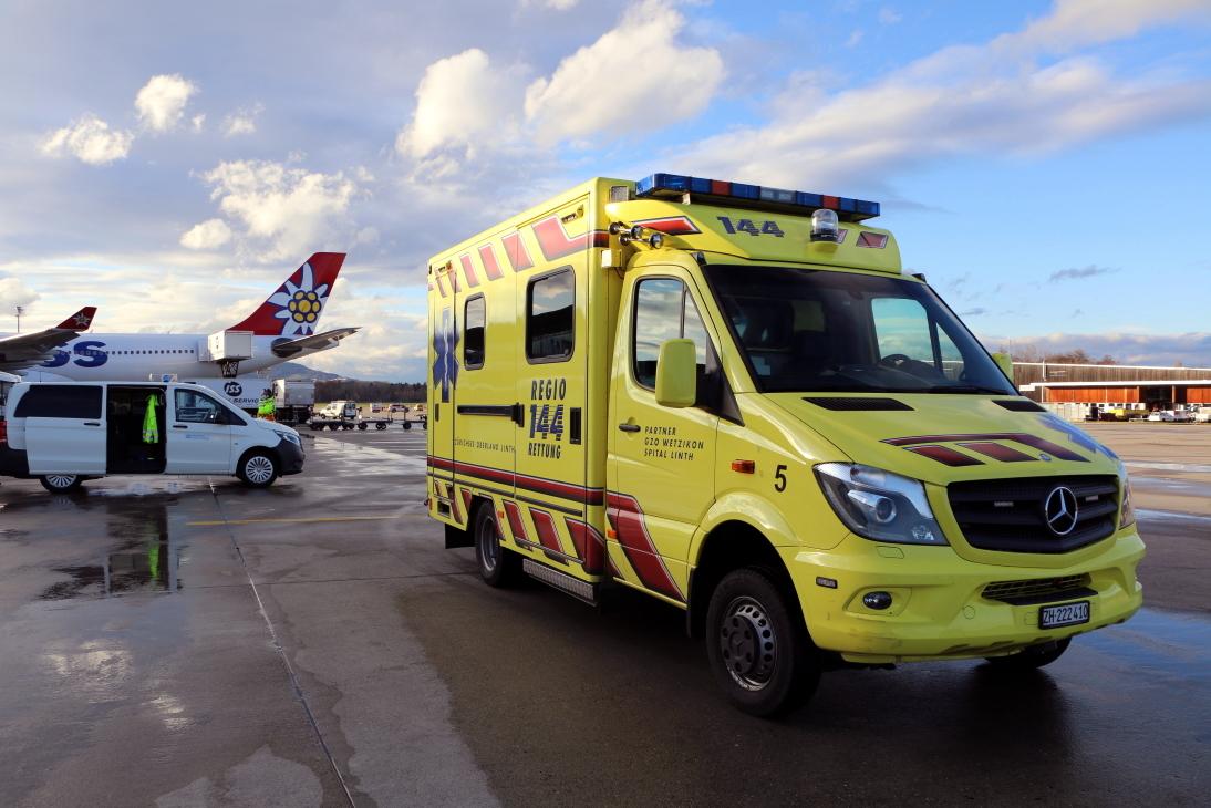 Kampfstoffanschlag im Flughafen: Was hätten die Retter zu erwarten?