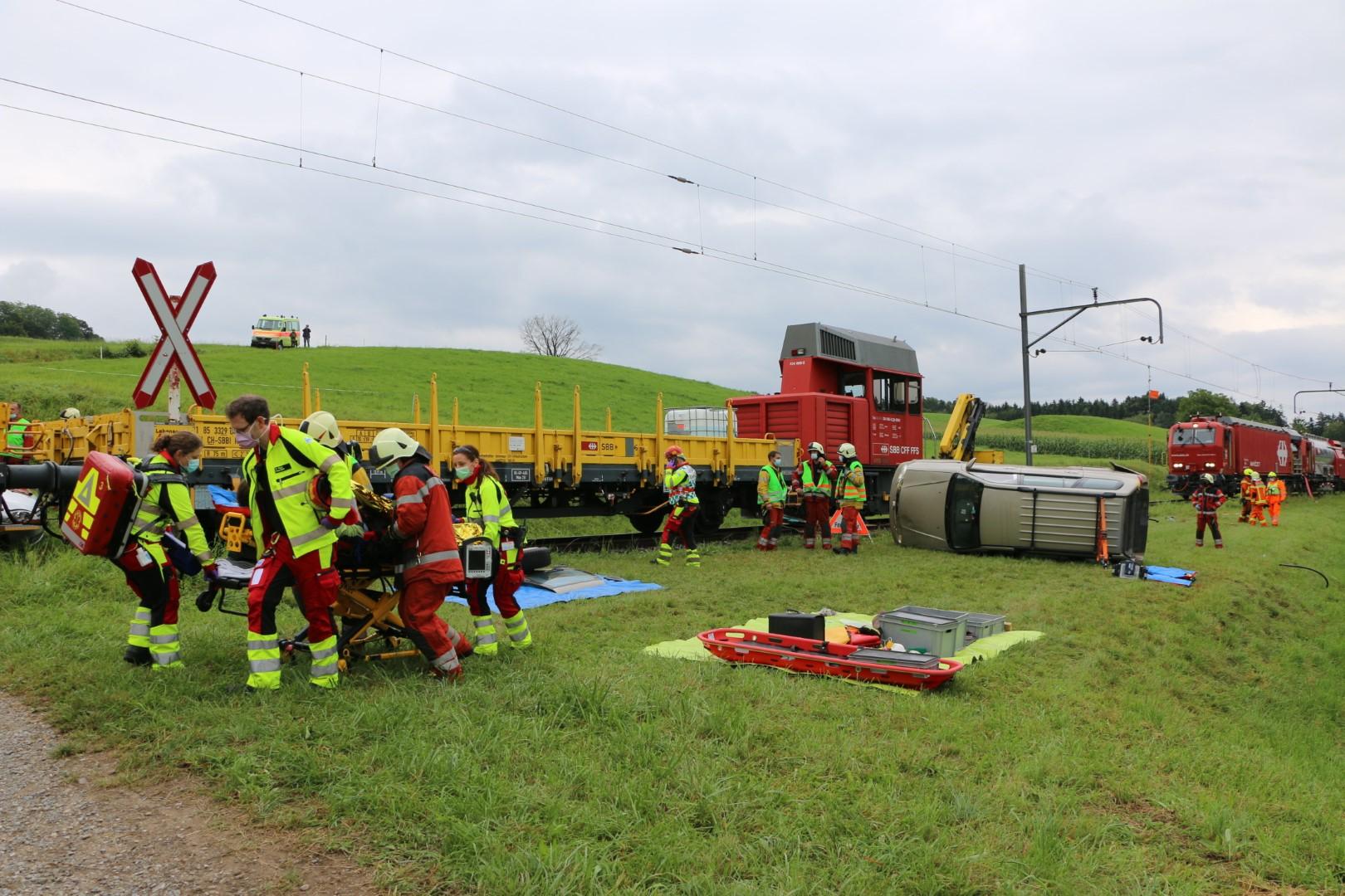 Wenn am «Verkehrsunfall» noch ein Zug beteiligt ist