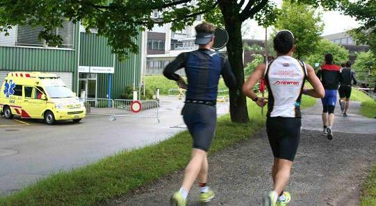 Regio 144 am Ironman in Rapperswil SG